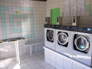 machien à laver laverie
