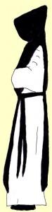 moine-cistercien-profil-dessin